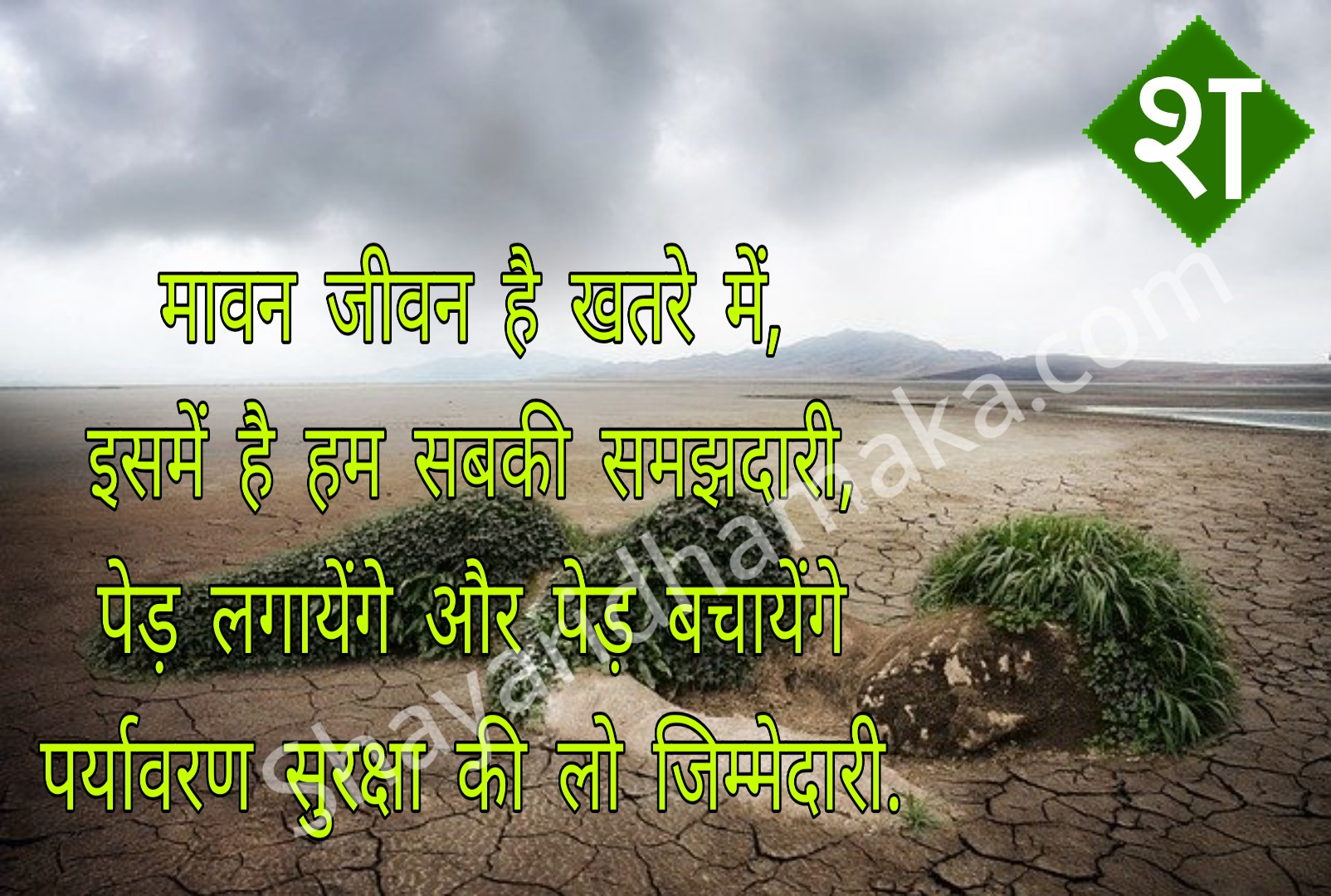 Quotes on environment in hindi